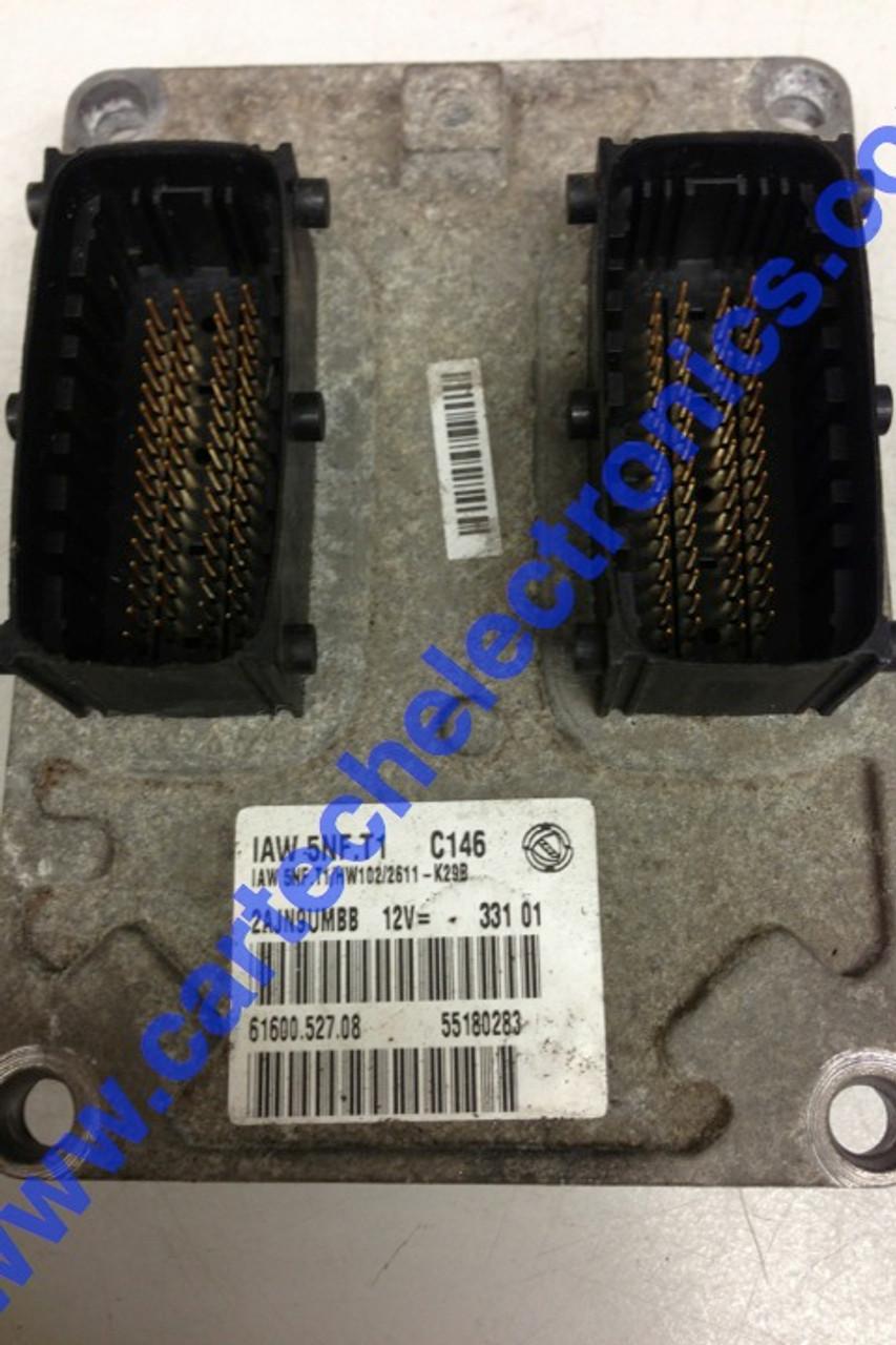 Plug & Play Fiat Stilo 1.6 16V Engine ECU IAW 5NF.T1 61600.527.08 55180283