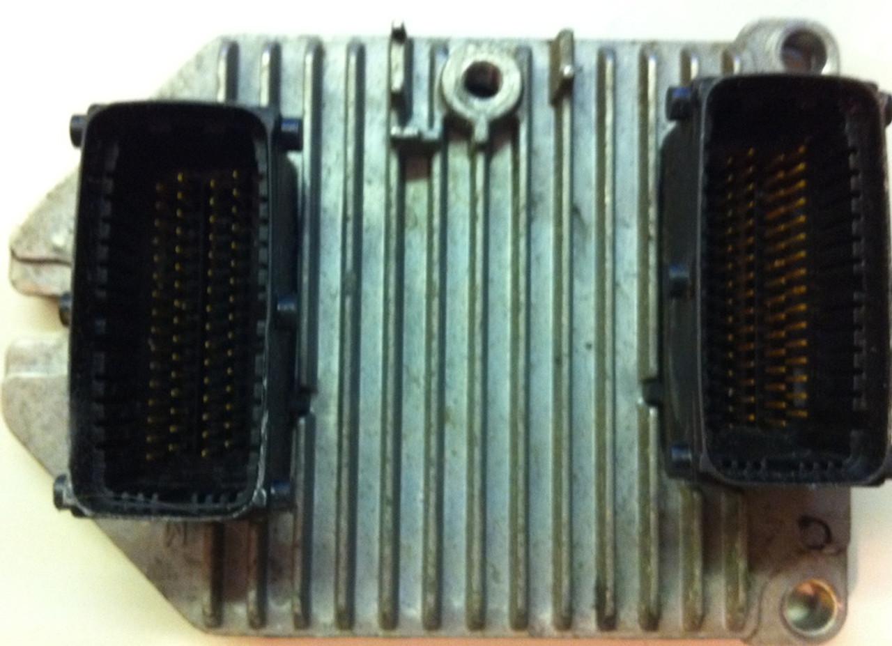 Vauxhall/Opel Meriva, Siemens Engine ECU, 13105214, S0300405, 5WK91716
