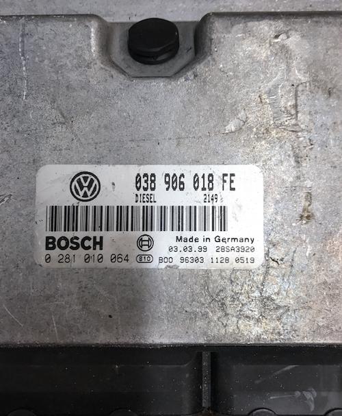 Volkswagen Passat 1.9 TDi, 0281010064, 0 281 010 064, 038906018FE, 038 906 018 FE