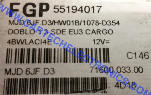 MJD 6JF.D3 71600.033.00 55194017 FGP