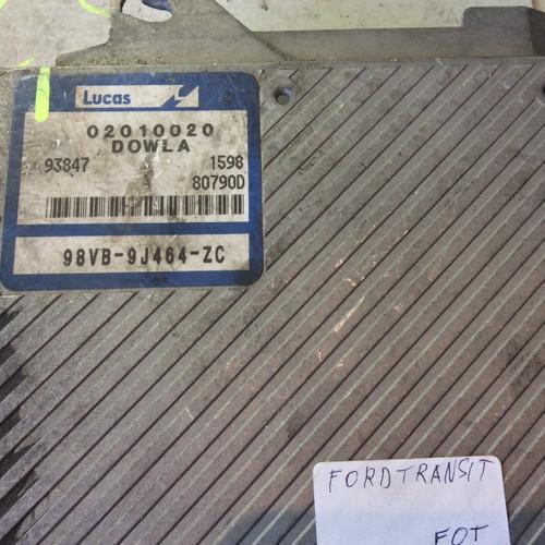 LDV Transit 2.5TD, DOWLA, 98VB-9J464-ZC, 02010020