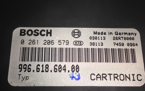 Porsche Engine Number Decoder