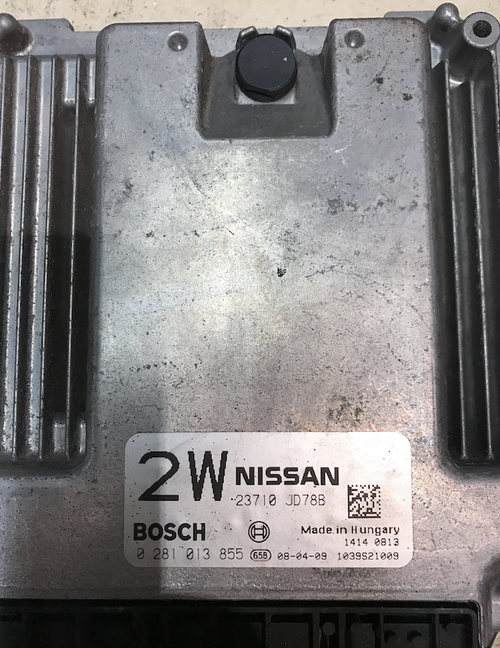 Nissan Quashqai, 0281013855, 0 281 013 855, 23710 JD78B