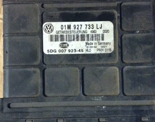 VW Golf Transmission Control Unit, 01M927733LJ, 01M 927 733 LJ