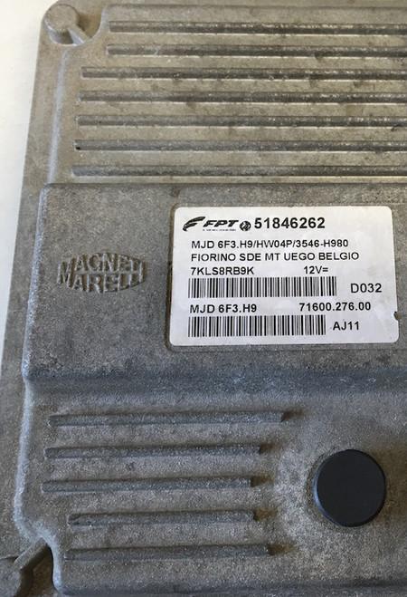 Fiat Fiorino JTD, 51846262, MJD 6F3.H9 HW04P, 71600.276.00