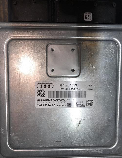 Audi, 4F1907559, 4F1 907 559, SW: 4F1910559D, 4F1 910 559 D, 5WP45014 06, SIMOS 6.2