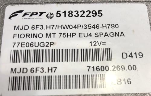 Fiat Fiorino JTD, 51832295, MJD 6F3.H7, 71600.269.00, HW04P, 71600.125.01