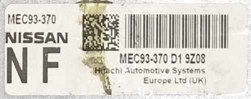Nissan, MEC93-370 D1, NF