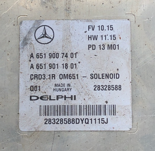 Mercedes-Benz Engine ECU, CRD2 30, OM651, 28213920