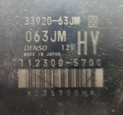 33920-63JM, 112300-5700, HY