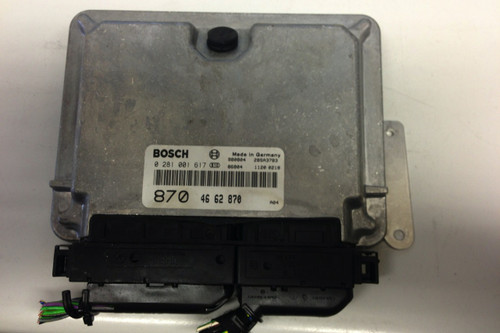 Plug & Play Bosch Engine ECU, 0281001617, 0 281 001 617, 4662870, 46 62 870