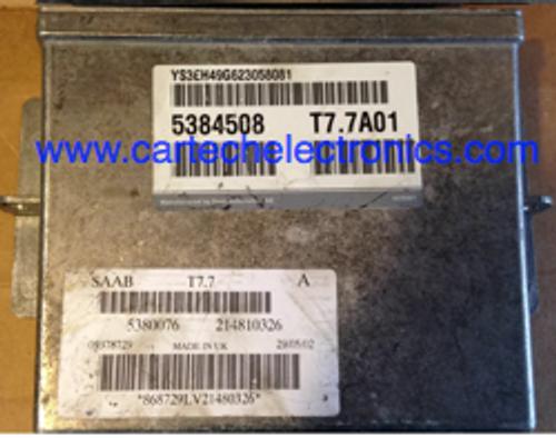 Plug & Play Saab 9-5 2.3L Engine ECU 5384508 T7.7A01 5380076 214810326