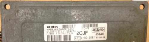 6S61-12A650-FF S120977315 F 2CJF SIM210