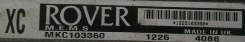 ROVERM.E.M.S MKC103360XC