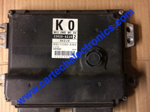 Suzuki Swift 1.3L, 33920-62J02 ,MB112300-0383, K0