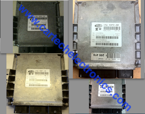 Unlock (decode) Services for Magneti Marelli 3 Plugs IAW 48P2.76 48P2.80 Engine ECU