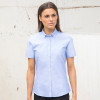 Modern Oxford Shirt - Ladies S/Sleeve