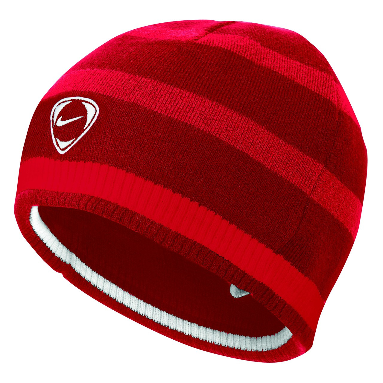 ... CLEARANCE - Nike Cat ID Reversible Beanie - Varsity Red Sport Red White  ... 950f2cc76f9