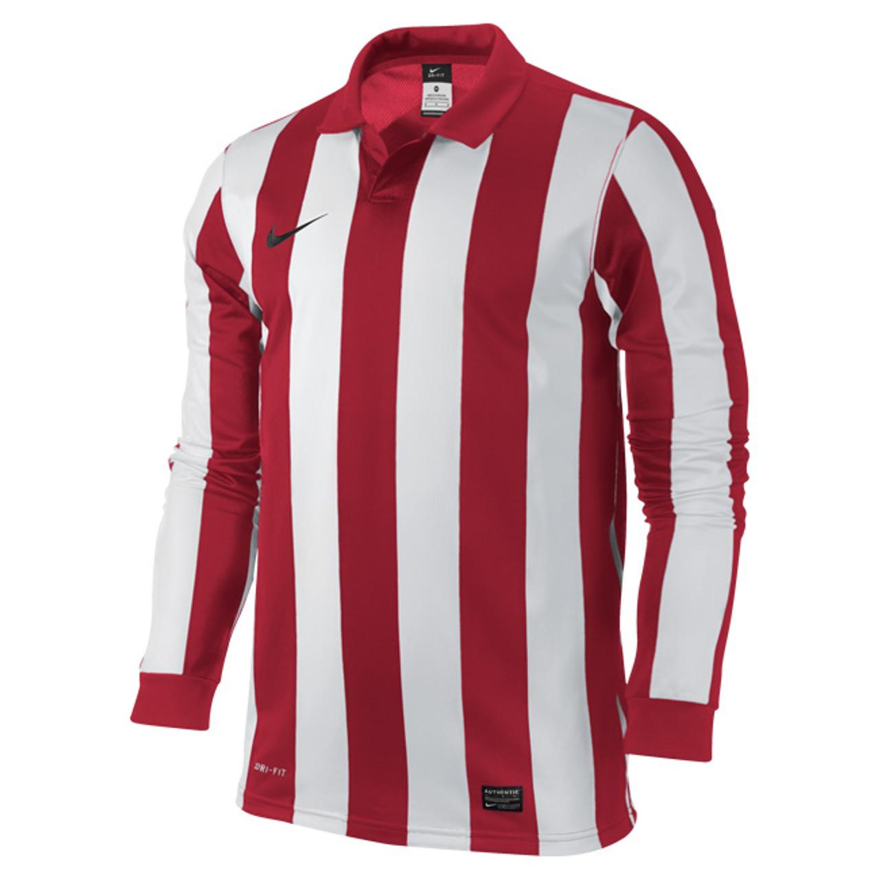 a81b1b68dcba Nike Inter Stripe III Game Jersey KIDS - Varsity Red White - BigWight