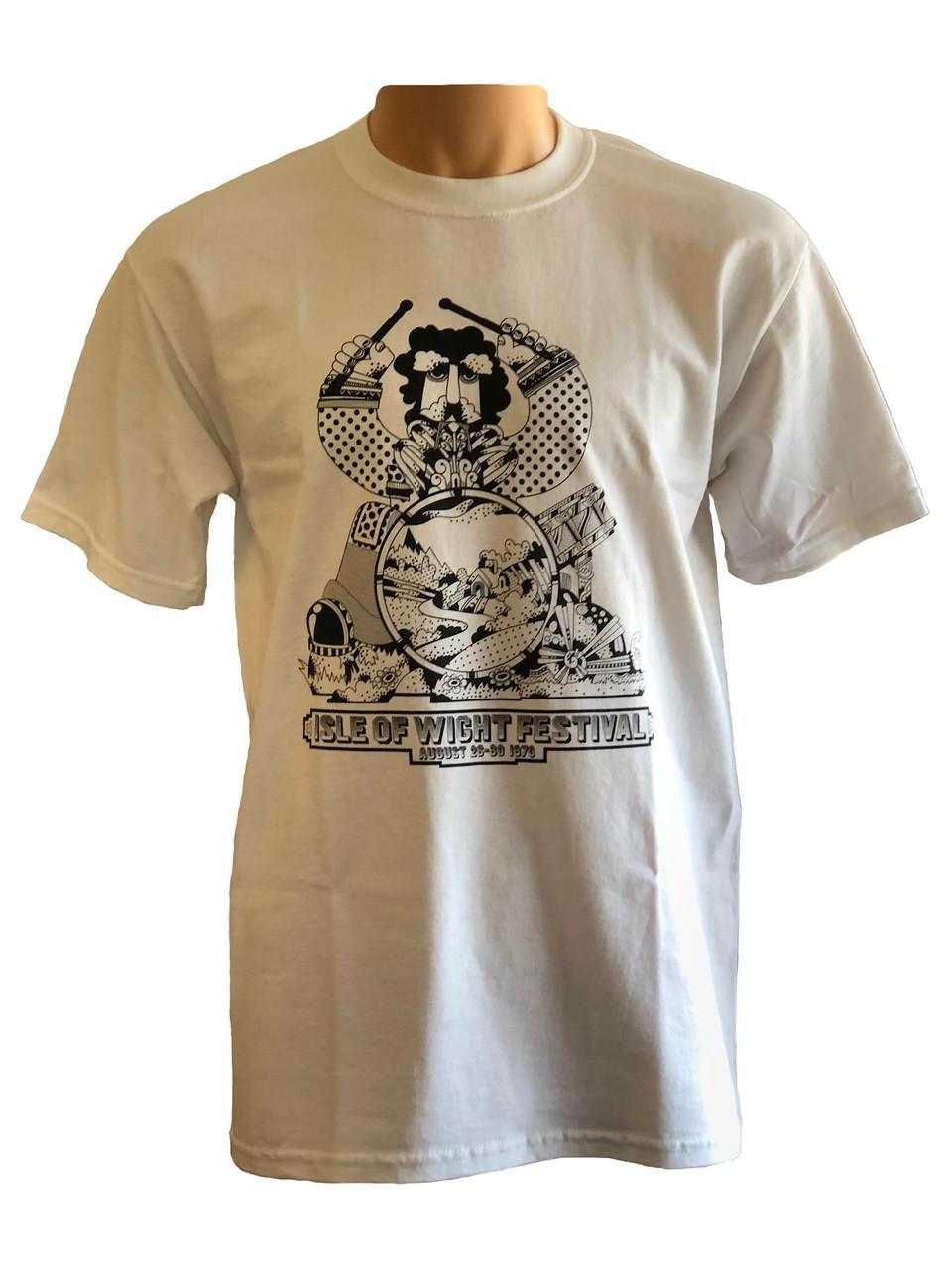 IW Festival 70 Drummer Man T Shirt