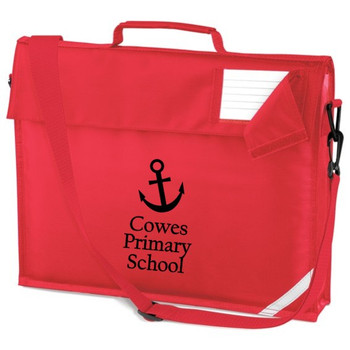 Cowes Primary Book Bag with Strap