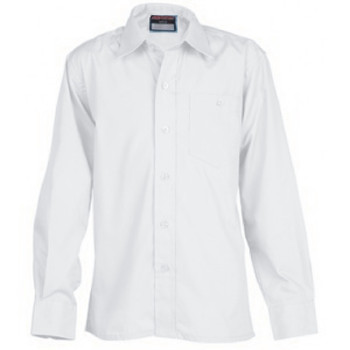 "Innovation Boys L/Sleeve Shirt - Sizes 11-14.5"" Collar"