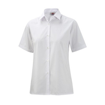 "DL S/Sleeve Girls Blouse 22-34"""