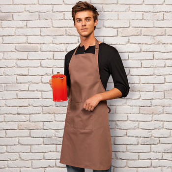 Colours Pocket Bib Apron
