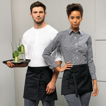 Klopman 3 Open Pocket Apron