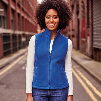 Outdoor Fleece Gilet - LADIES