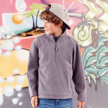 1/4 Zip Outdoor Fleece - CHILD