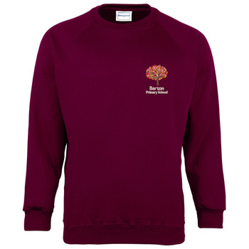 Barton Primary  PE Sports Sweatshirt
