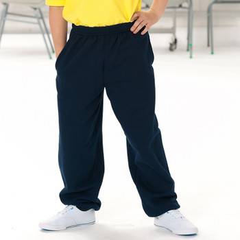 Russell Black Jog Pants - Kids
