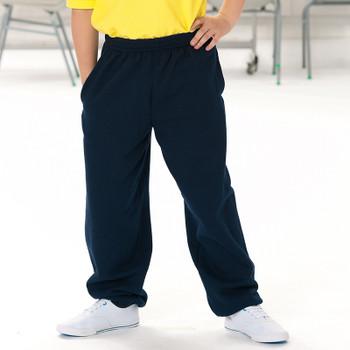 Russell Black Jog Pants - Kids
