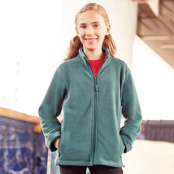 Full Zip Outdoor Fleece - CHILD