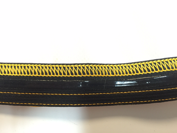 Optional silicon gripper waist elastic
