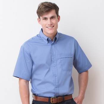 Pinpoint Oxford Shirt - Men's S/Sleeve