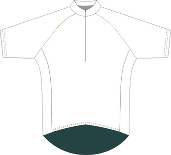 Recreational Fit S/Sleeve Cycling Top - Custom Made With Your Design
