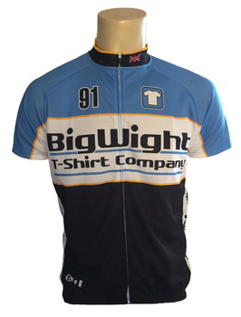 Big Wight S/Sleeve Cycling Top - Recreational Fit