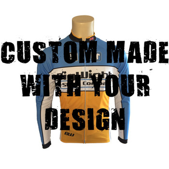 Pro Fit L/Sleeve Cycling Top - Custom Made With Your Design