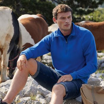 Classic Zip Neck Sweatshirt - ADULT