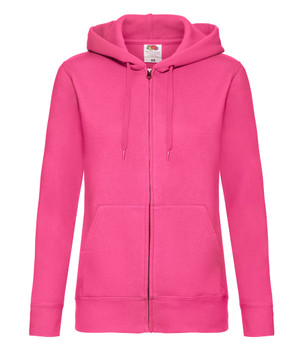 Premium Fitted Hooded Sweat Jacket - LADIES