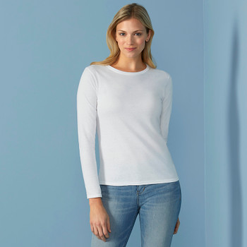 Softstyle Long Sleeve T-Shirt - LADIES