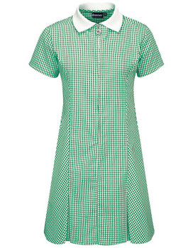 Banner Green Gingham Summer Dress