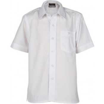 "Innovation Boys S/Sleeve Shirt - Sizes 15-18"" Collar"