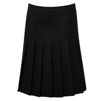 "Stitched Down Knife Pleat Skirt 30-38"""