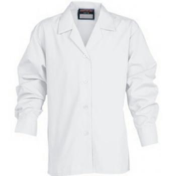"""Innovation L/Sleeve Girls Revere Blouse 38-46"""""""