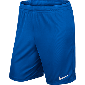 Nike Park II Knit Short - ADULT Royal Blue/White