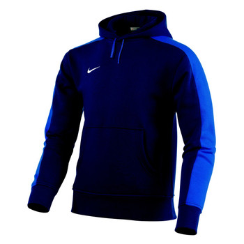 Nike Team Fleece Hoody KIDS - Obsidian/Royal Blue/White