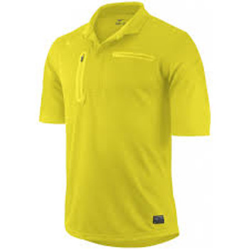 Nike Referee Jersey SHORT SLEEVE - Vibrant Yellow
